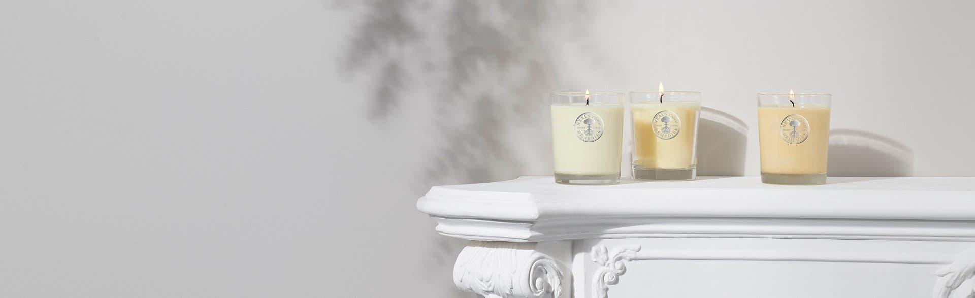 香薰枝及蠟燭